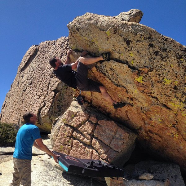 Bouldering up here really is amazing.