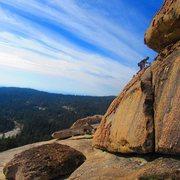 Rock Climbing Photo: Easy high ballin