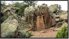 Rock Climbing Photo: Singlio problem beta.