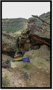 Rock Climbing Photo: Chillwave Leever problem beta.