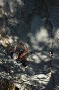 Rock Climbing Photo: in the shadows