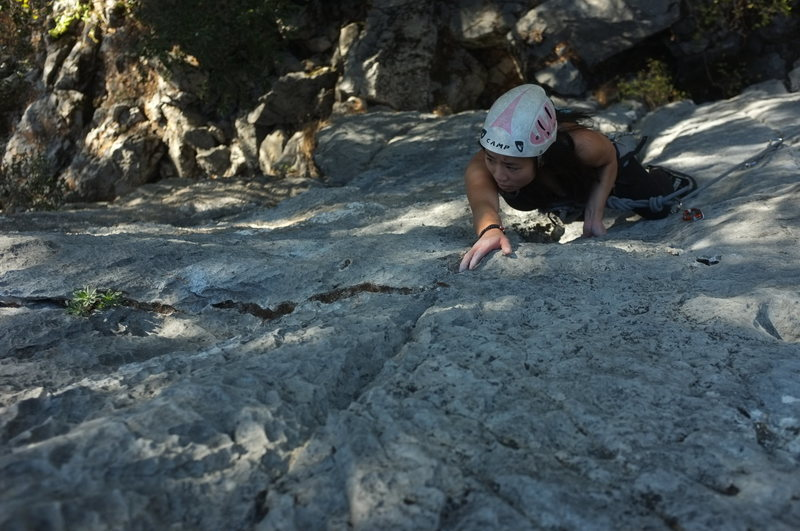 Rock Climbing Photo: jugs