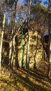 Rock Climbing Photo: Start standing and make your way up to a nice left...
