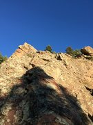 Rock Climbing Photo: Looking up the ridge from near the base.