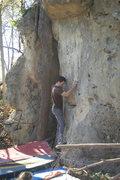 Rock Climbing Photo: A man