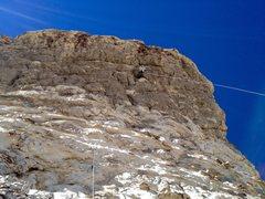 Rock Climbing Photo: Holy Steepness on p2