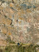 Rock Climbing Photo: Red Slab.  Photo by Alan Prehmus.