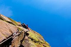 Rock Climbing Photo: Leading pitch 5 was stellar!