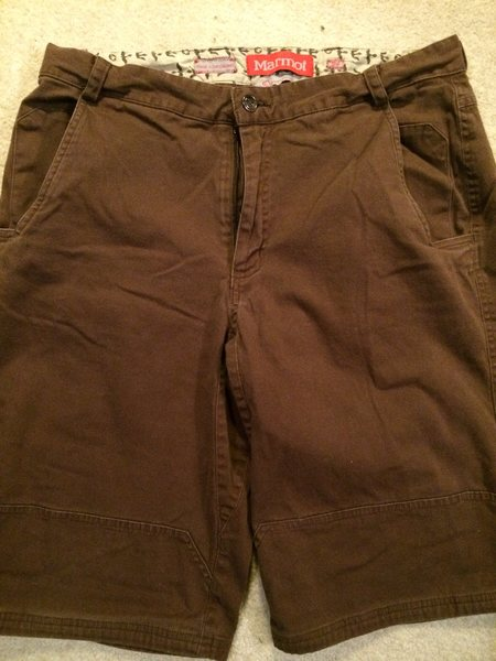 Rock Climbing Photo: Marmot climbing shorts