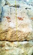 Rock Climbing Photo: Iron Giant V3 ,  Orange rock is off