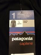 Rock Climbing Photo: Patagonia silkweight sz L