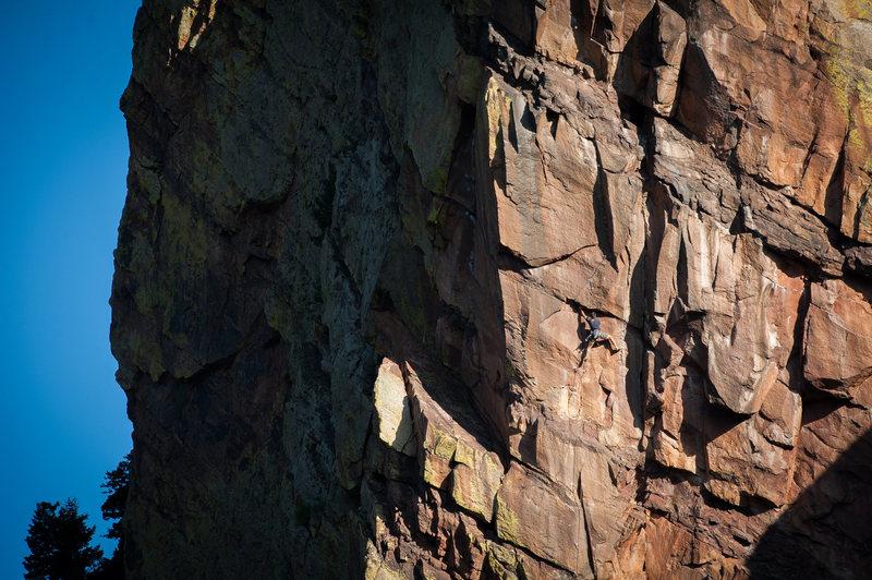 Rock Climbing Photo: P2.