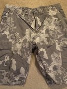 Rock Climbing Photo: NF desert shorts grey blue