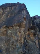 Rock Climbing Photo: Dark Energy