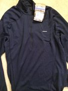 Rock Climbing Photo: Cap 3 1/4 zip NWT