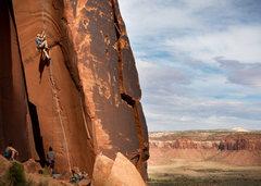 Rock Climbing Photo: Phil belays Phil