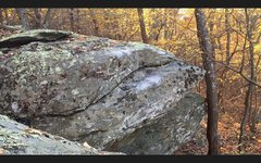Rock Climbing Photo: Life After Geenstone (V9). A king line of the park...
