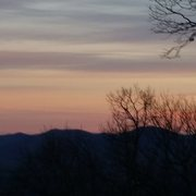 Rock Climbing Photo: Sunset on the blue ridge parkway