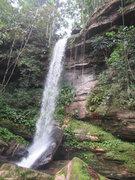 Rock Climbing Photo: Ipy Falls , Presidente Figueiredo - Amazonas -Braz...