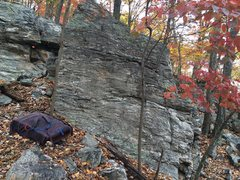 Rock Climbing Photo: Fun easy climbing on a block next to the Big Time ...