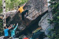Rock Climbing Photo: CodyMac taking a lap