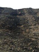 Rock Climbing Photo: lauren on blackberry