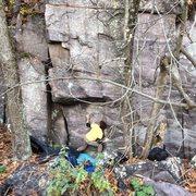 Rock Climbing Photo: Jacob Gerber moves through the opening moves of Go...