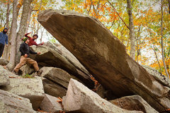 Rock Climbing Photo: The intimidating prow of Pride Rock