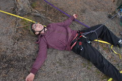 Rock Climbing Photo: Myself after finishing my first ascent