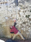 Rock Climbing Photo: Couldn't get it going left hand first, so I was ab...
