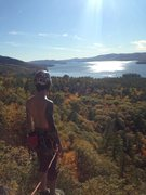 Rock Climbing Photo: One of the most rewarding belay views you'll ever ...