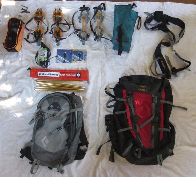 Ice/Alpine gear