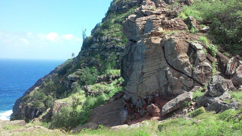 Makapuu crag