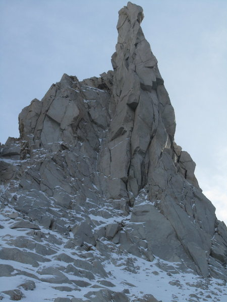 Rock Climbing Photo: northeast face of petit griffon