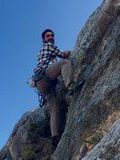 Rock Climbing Photo: I'm a happy boy