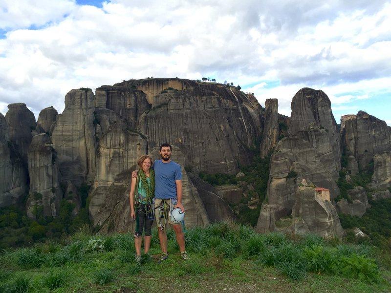 Rock Climbing Photo: Top of a pillar in Meteora