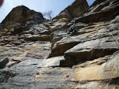 Rock Climbing Photo: This is the second pitch.  If at any point you're ...