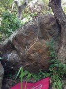 Rock Climbing Photo: Bustani Boulder