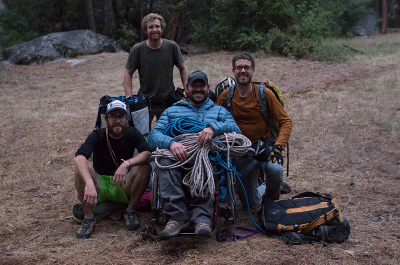 Rock Climbing Photo: climbing team
