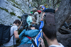 Rock Climbing Photo: carry in