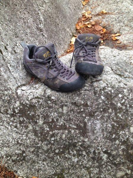 Rock Climbing Photo: Old guide tennie