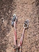 Rock Climbing Photo: The anchor. Thanks, ASCA!