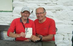 Rock Climbing Photo: At the Shepherds Crag Cafe Paul and Ron after the ...