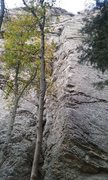 Rock Climbing Photo: Italian Arete South East perspective.
