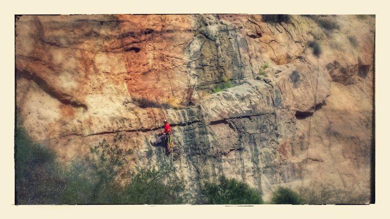Rock Climbing Photo: Black Flower Wall ( Left, Lower Side)