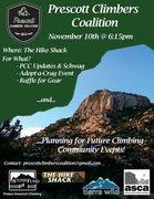 climbers meeting in Prescott, AZ