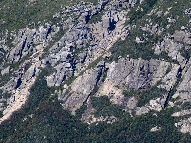 Left Side - Klondike Pond Cliff