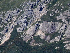 Rock Climbing Photo: Left Side - Klondike Pond Cliff