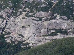 Rock Climbing Photo: Right Side - Klondike Pond Cliff