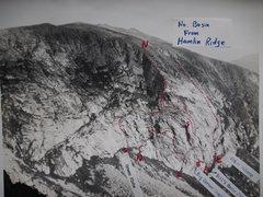 Rock Climbing Photo: North Basin from Hamlin Ridge